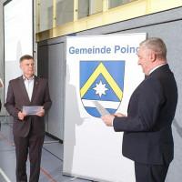Vereidigung von Reinhard Tonollo als neuer 2. Bürgermeisters