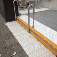 Der barrierefreie Bahnhof Poing à la Deutsche Bahn