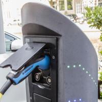 Laadesäule für Elektromobilität
