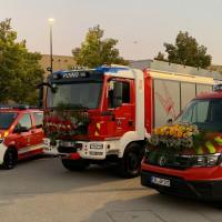Die neuen Feuerwehrfahrzeuge der FFW Poing
