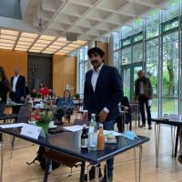 Omid Atai bei der konstituierenden Sitzung des neuen Kreistags