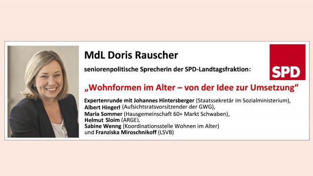"""""""Wohnformen im Alter – von der Idee zur Umsetzung"""" am 11. September 2017"""